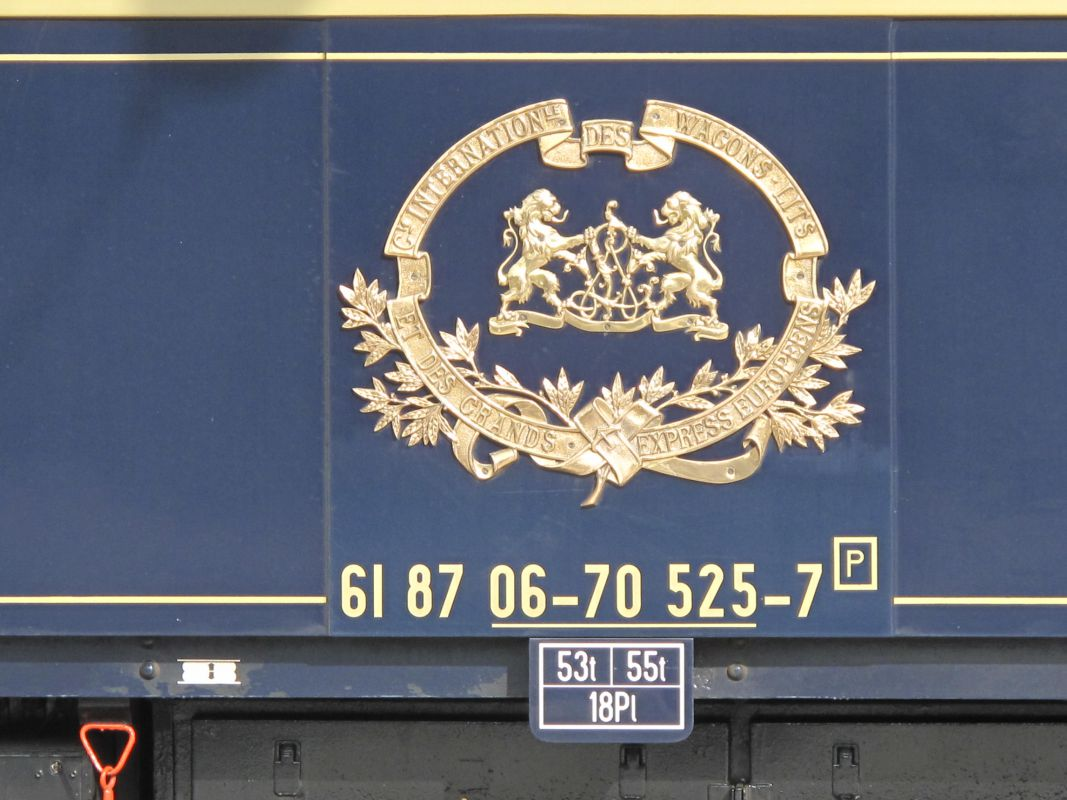 logotipo WAGONS LITS